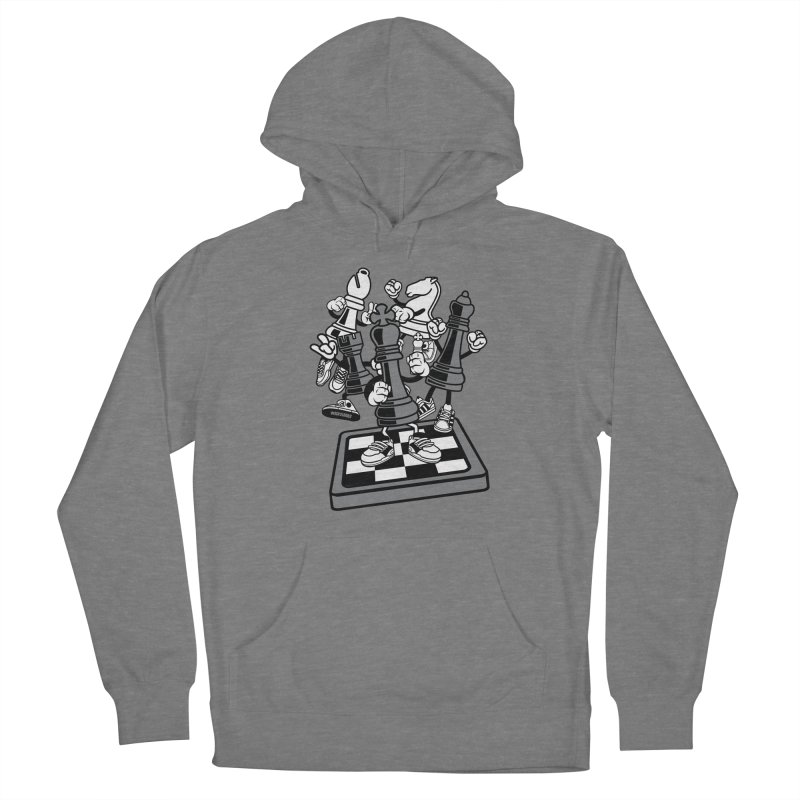 Game Of Chess Men's French Terry Pullover Hoody by WackyToonz