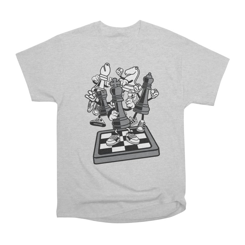 Game Of Chess Women's Heavyweight Unisex T-Shirt by WackyToonz