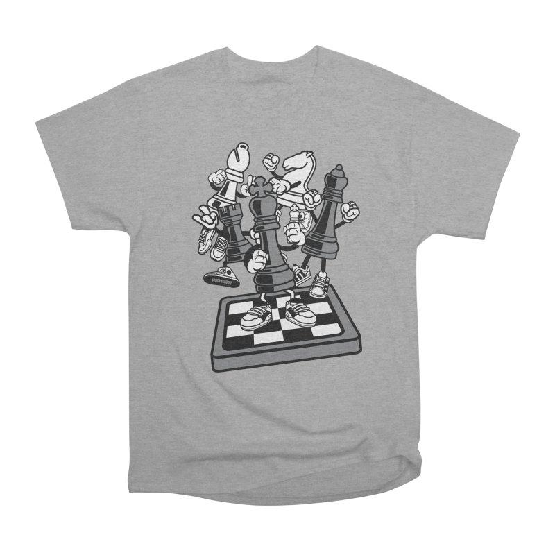 Game Of Chess Women's Heavyweight Unisex T-Shirt by WackyToonz