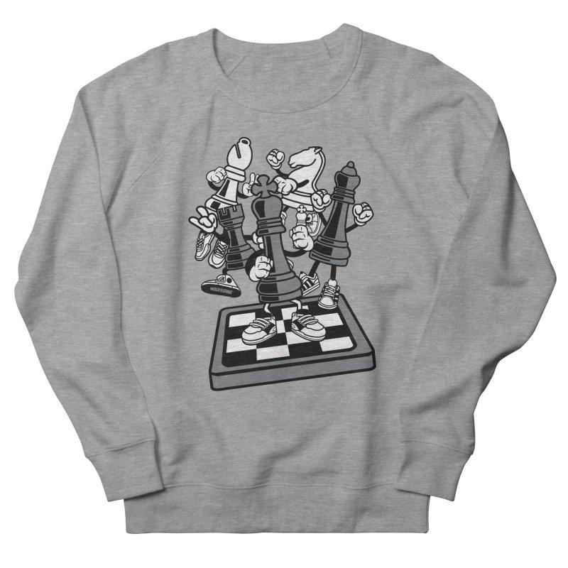 Game Of Chess Women's French Terry Sweatshirt by WackyToonz