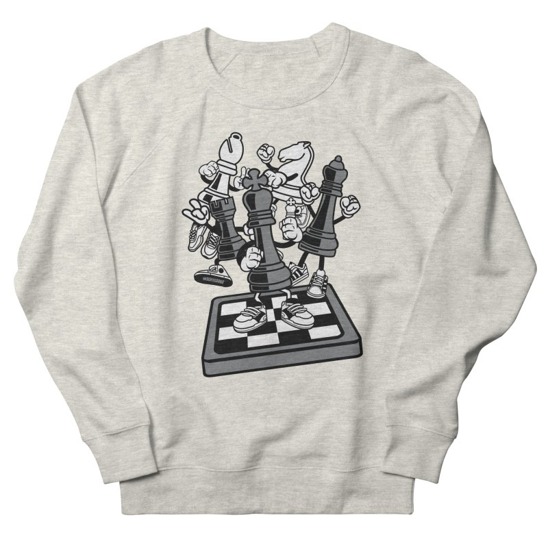 Game Of Chess Men's Sweatshirt by WackyToonz