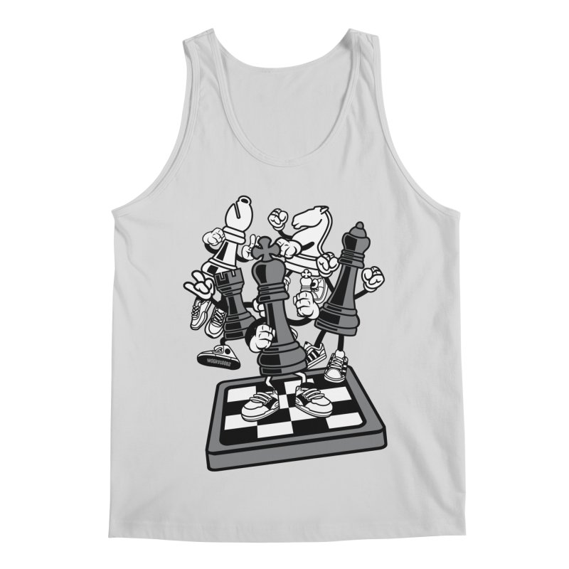 Game Of Chess Men's Regular Tank by WackyToonz