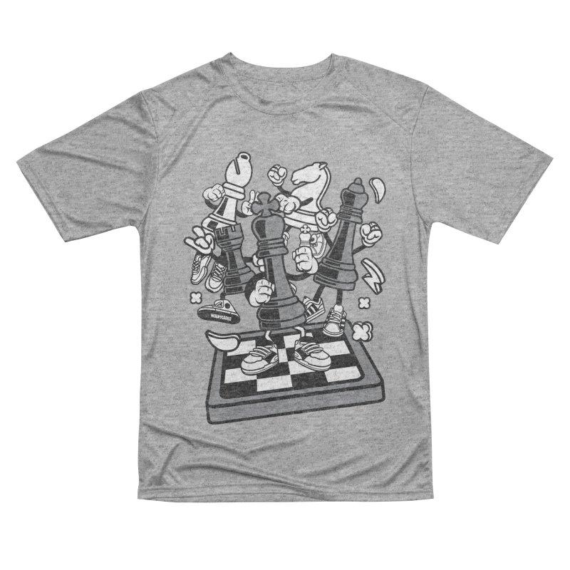Game Of Chess Men's Performance T-Shirt by WackyToonz