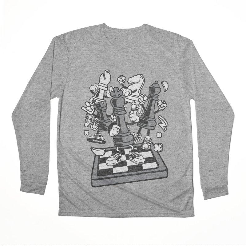 Game Of Chess Men's Performance Longsleeve T-Shirt by WackyToonz