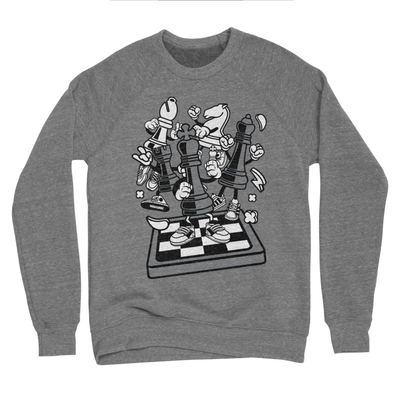Game Of Chess Women's Sponge Fleece Sweatshirt by WackyToonz