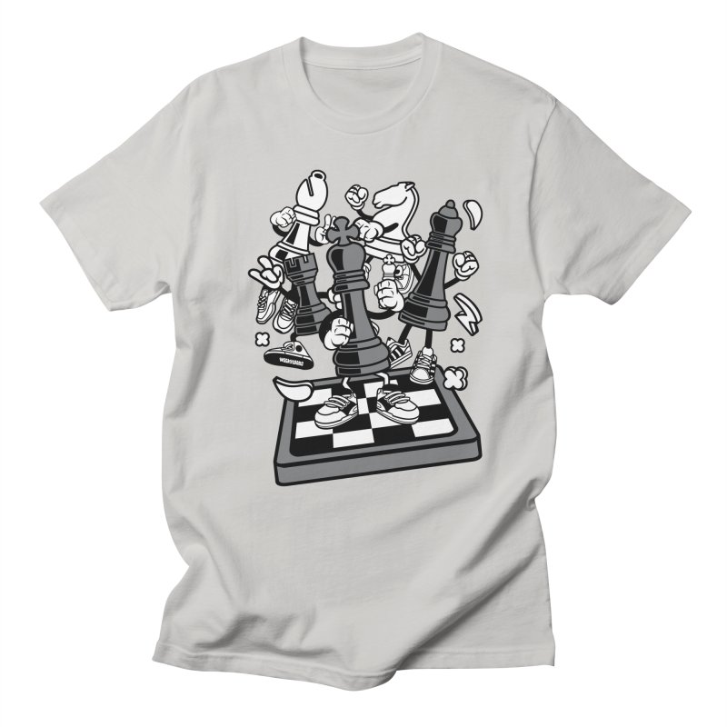 Game Of Chess Men's Regular T-Shirt by WackyToonz