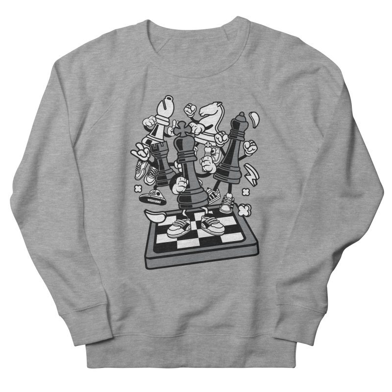 Game Of Chess Women's French Terry Sweatshirt by WackyToonz