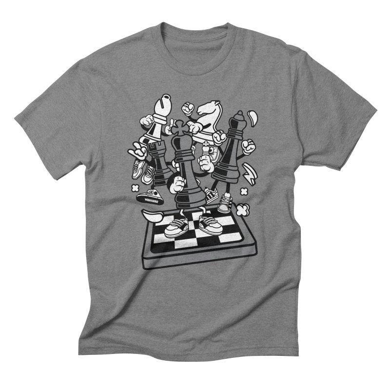 Game Of Chess Men's T-Shirt by WackyToonz