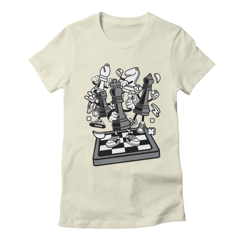 Game Of Chess Women's T-Shirt by WackyToonz