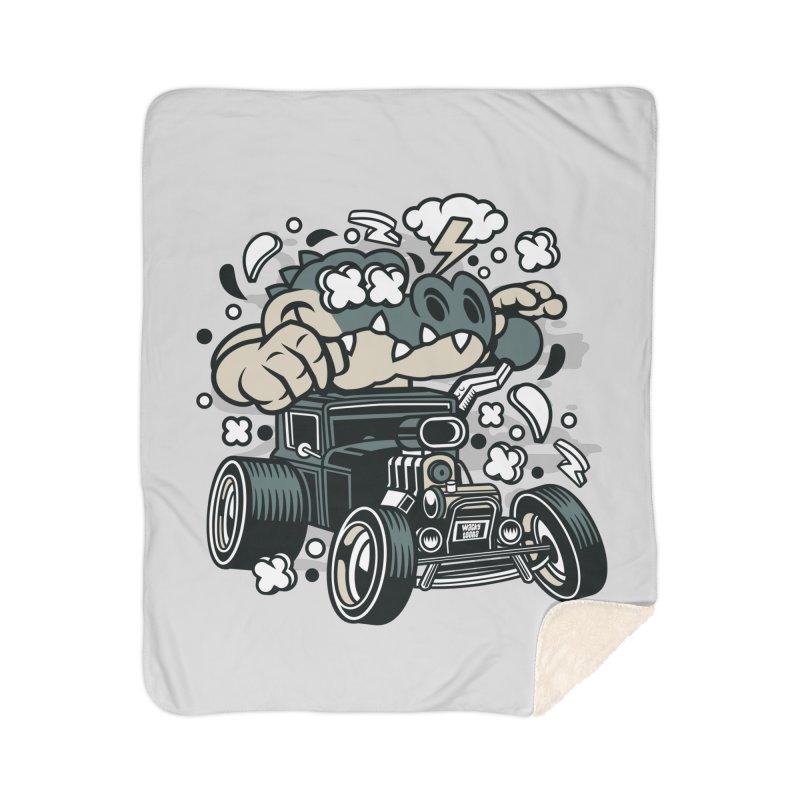 Croc Rod Home Blanket by WackyToonz