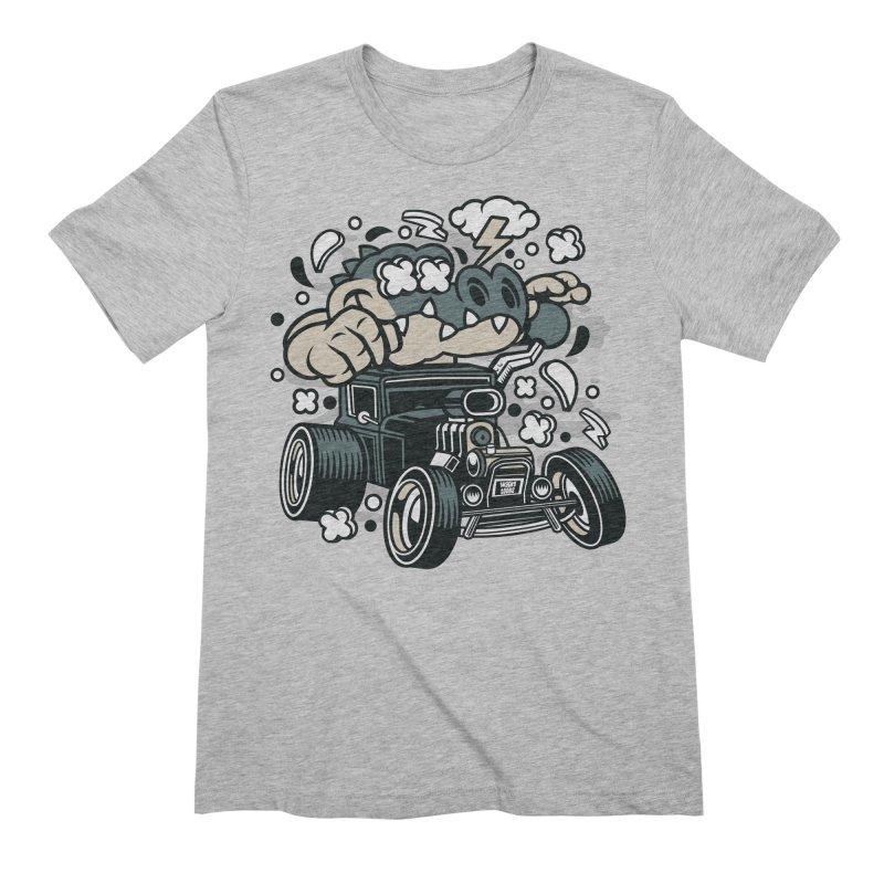 Croc Rod Men's T-Shirt by WackyToonz