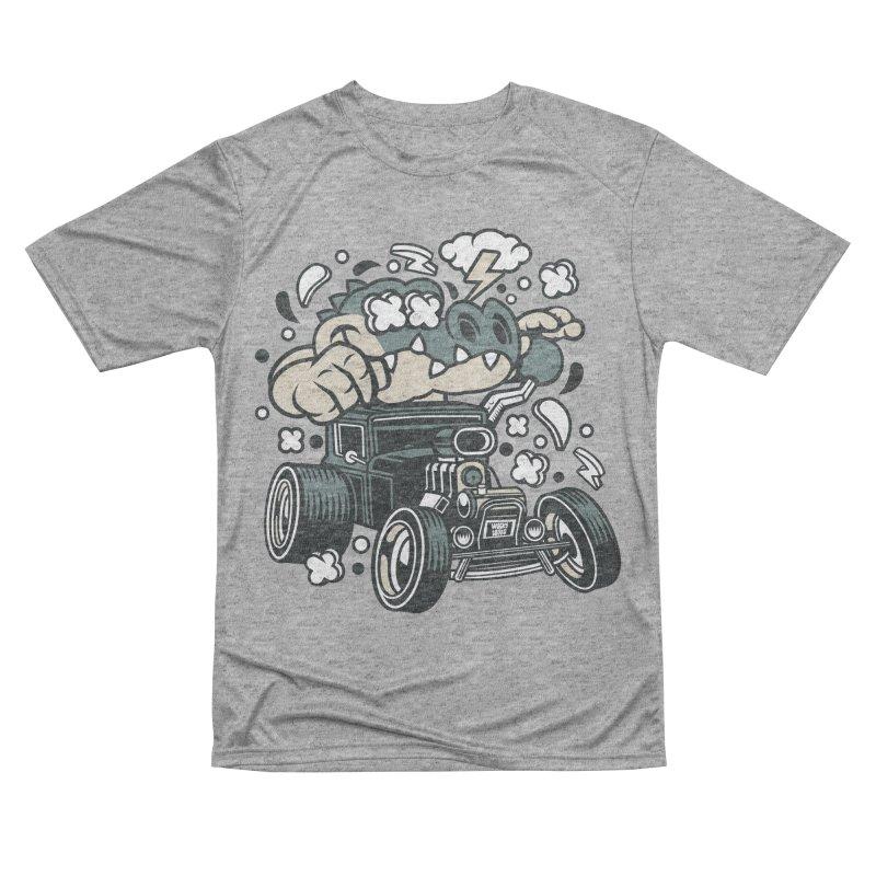 Croc Rod Men's Performance T-Shirt by WackyToonz