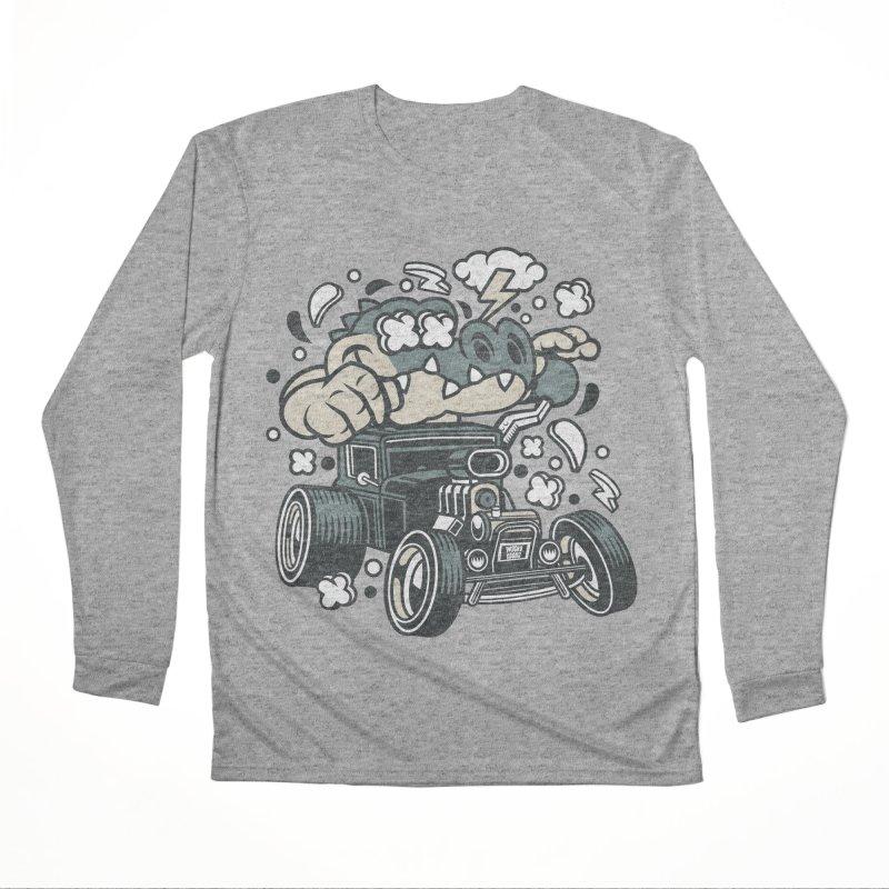 Croc Rod Men's Performance Longsleeve T-Shirt by WackyToonz