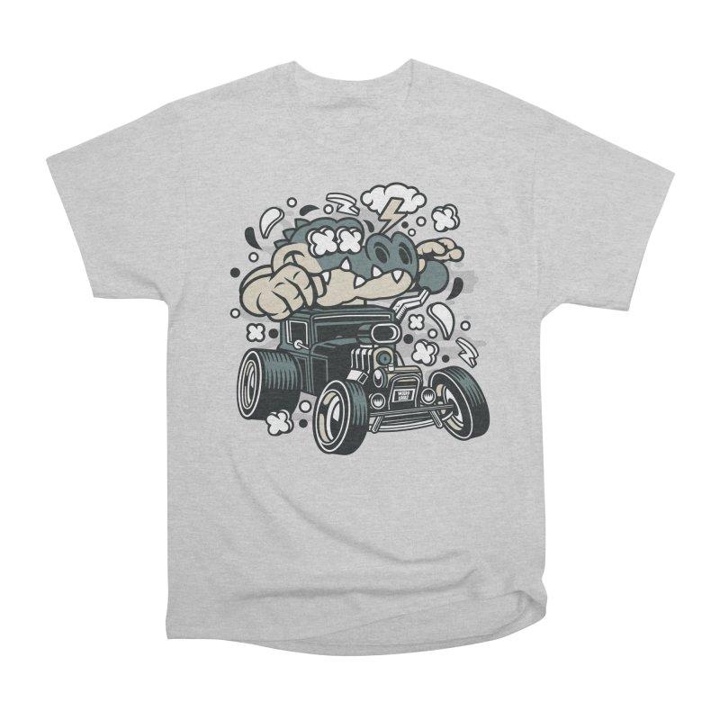 Croc Rod Men's Heavyweight T-Shirt by WackyToonz