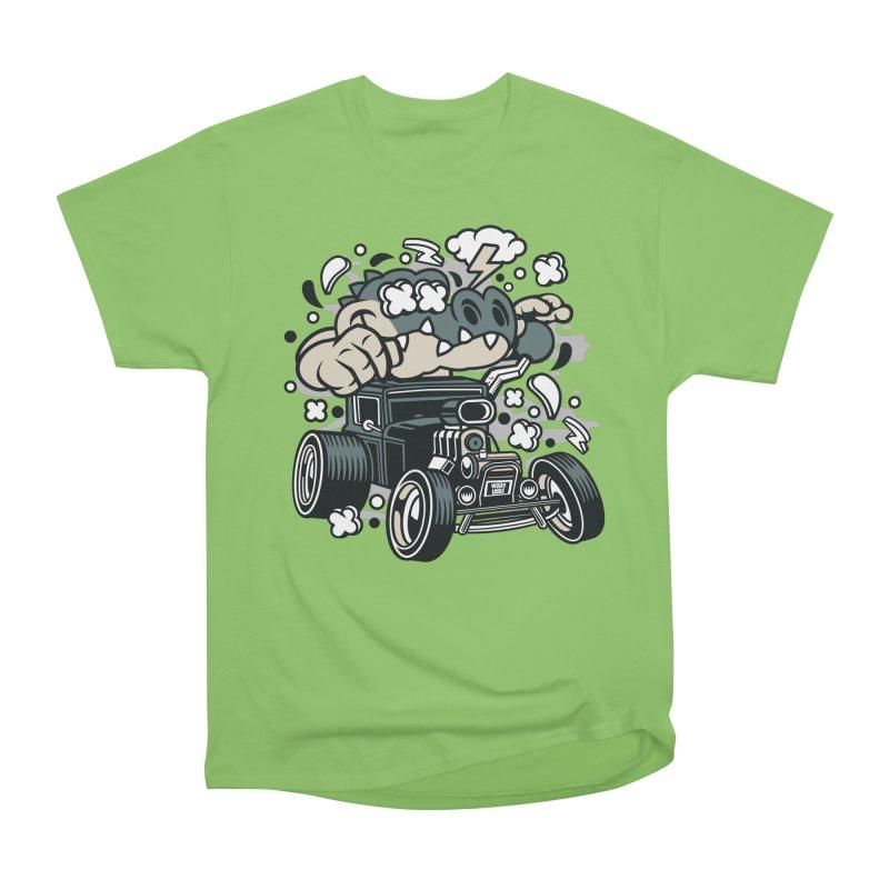 Croc Rod Women's Heavyweight Unisex T-Shirt by WackyToonz