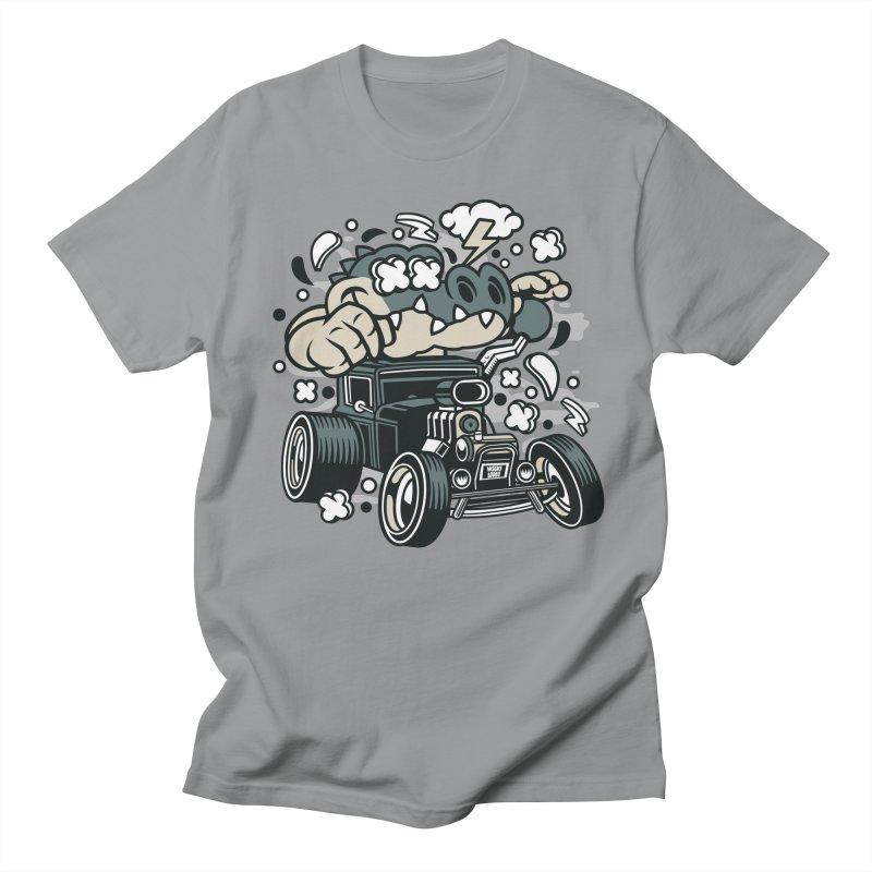 Croc Rod Women's Regular Unisex T-Shirt by WackyToonz