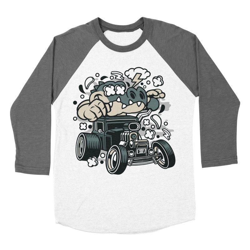 Croc Rod Women's Longsleeve T-Shirt by WackyToonz