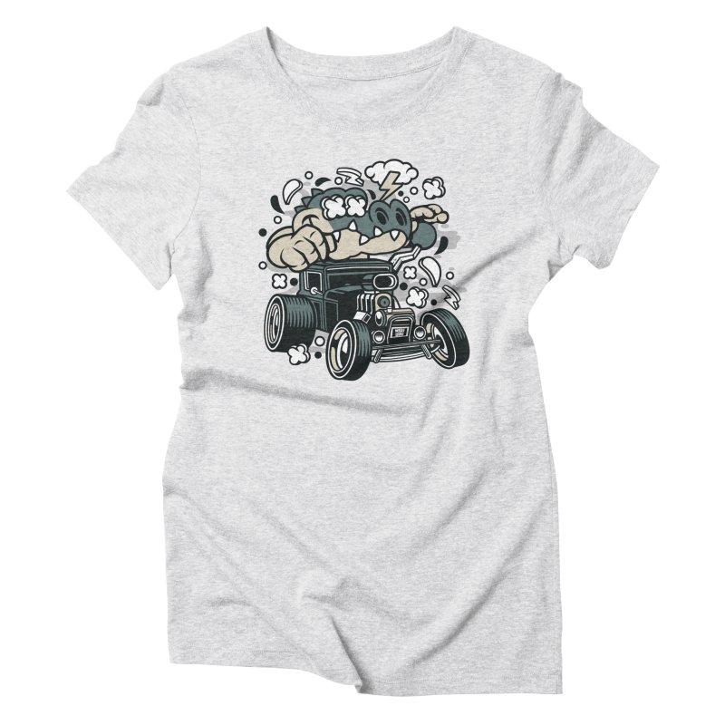 Croc Rod Women's T-Shirt by WackyToonz