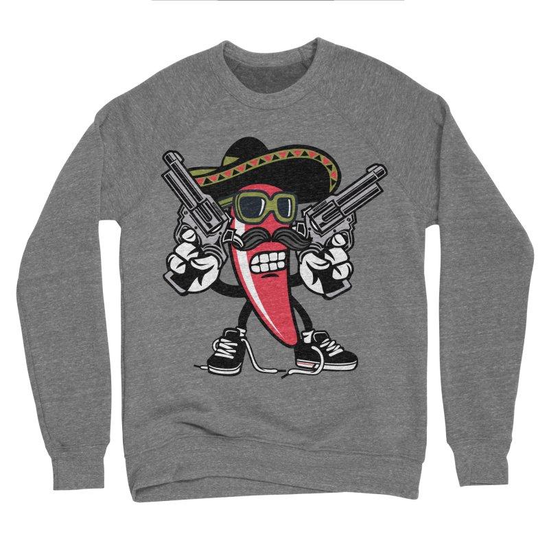 Hot and Spicy Women's Sponge Fleece Sweatshirt by WackyToonz