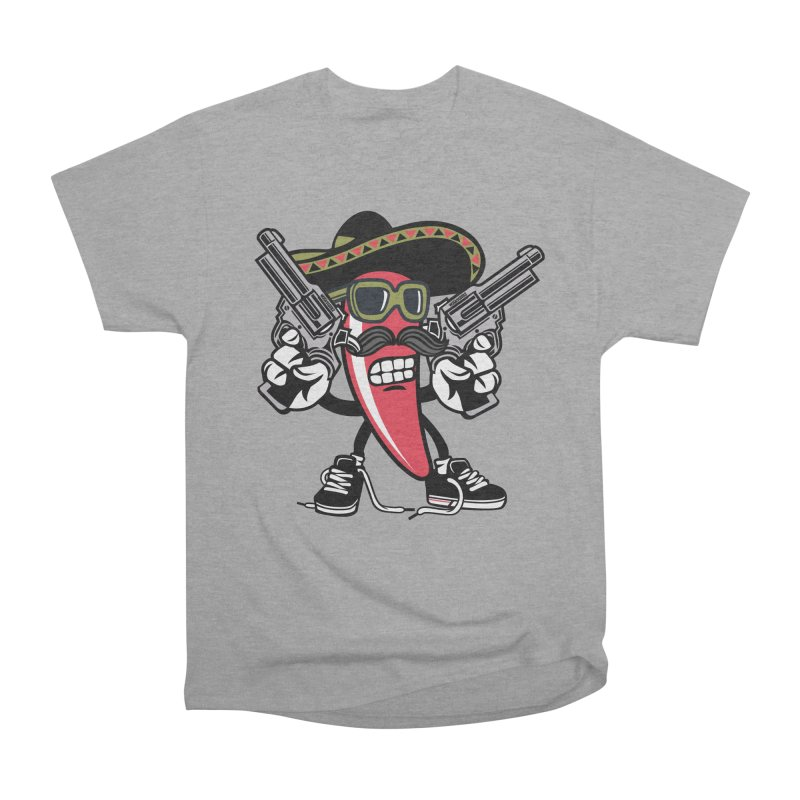 Hot and Spicy Men's Heavyweight T-Shirt by WackyToonz
