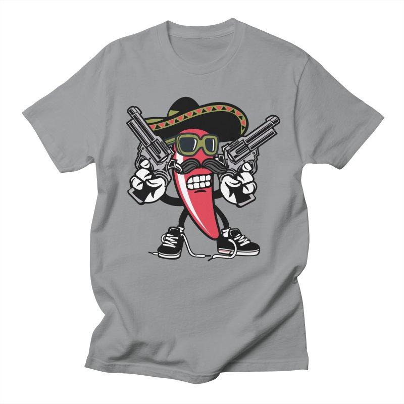 Hot and Spicy Women's Regular Unisex T-Shirt by WackyToonz