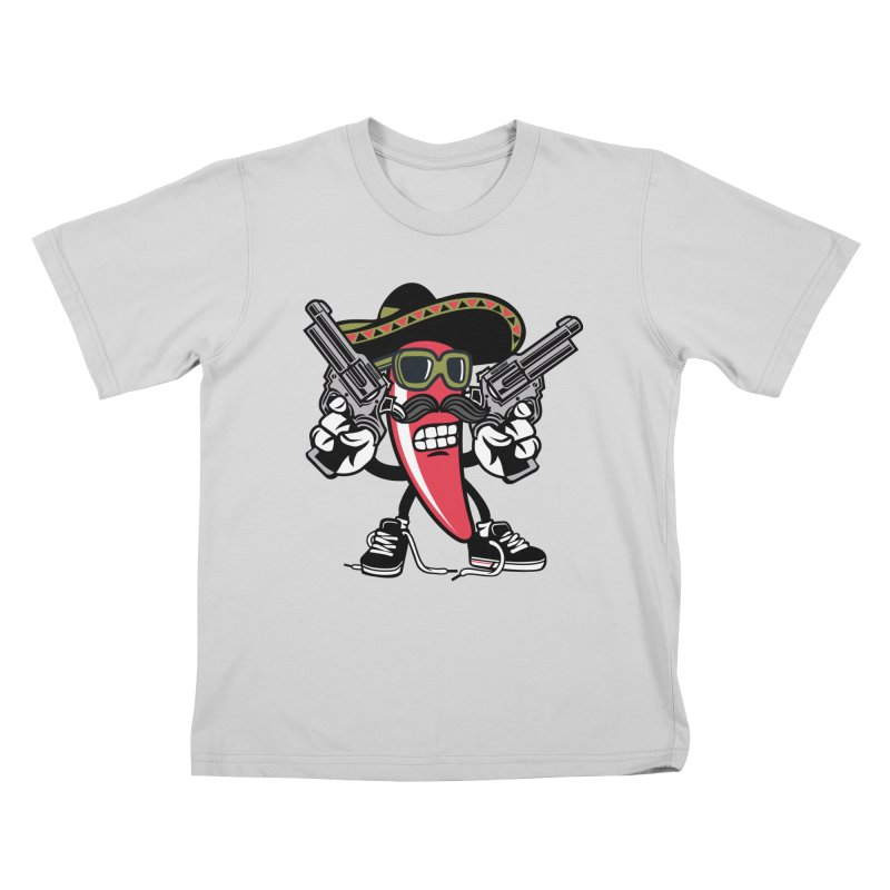 Hot and Spicy Kids T-Shirt by WackyToonz