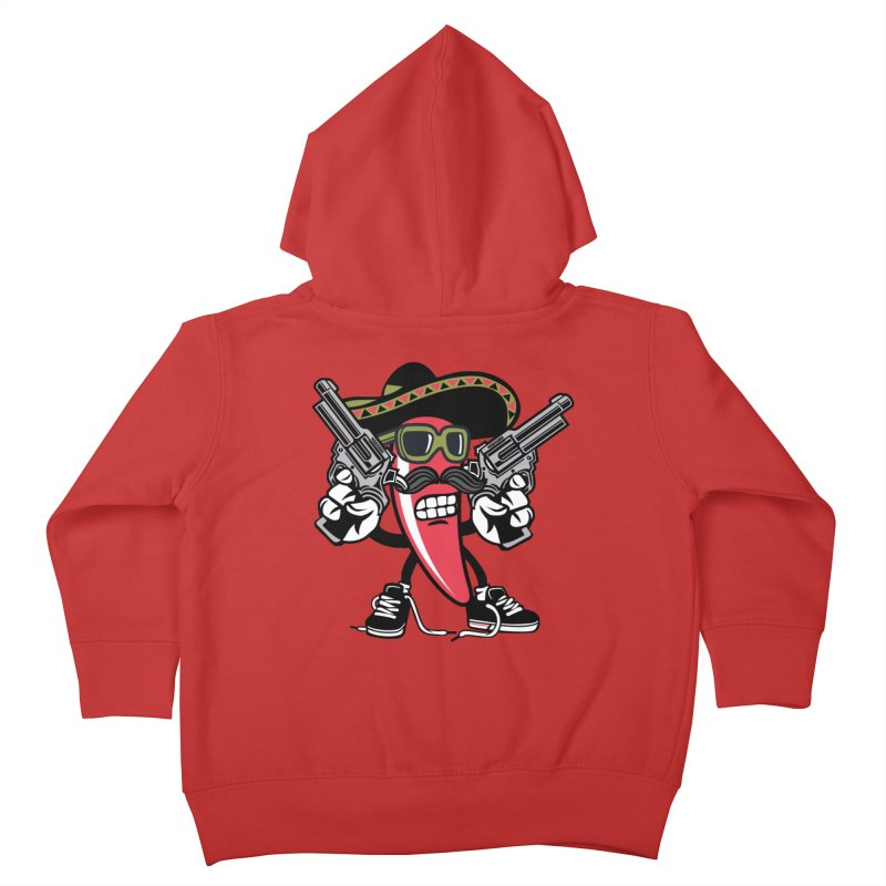 Hot and Spicy Kids Toddler Zip-Up Hoody by WackyToonz