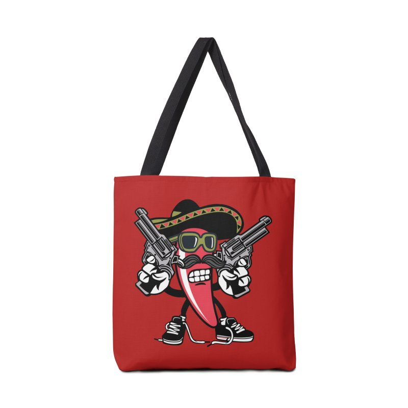 Hot and Spicy Accessories Bag by WackyToonz