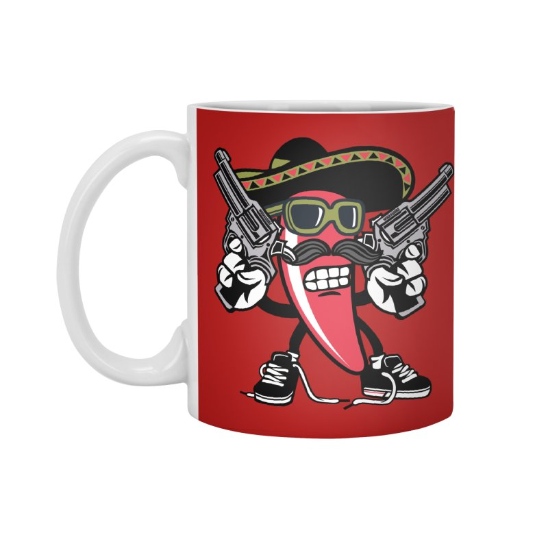 Hot and Spicy Accessories Standard Mug by WackyToonz