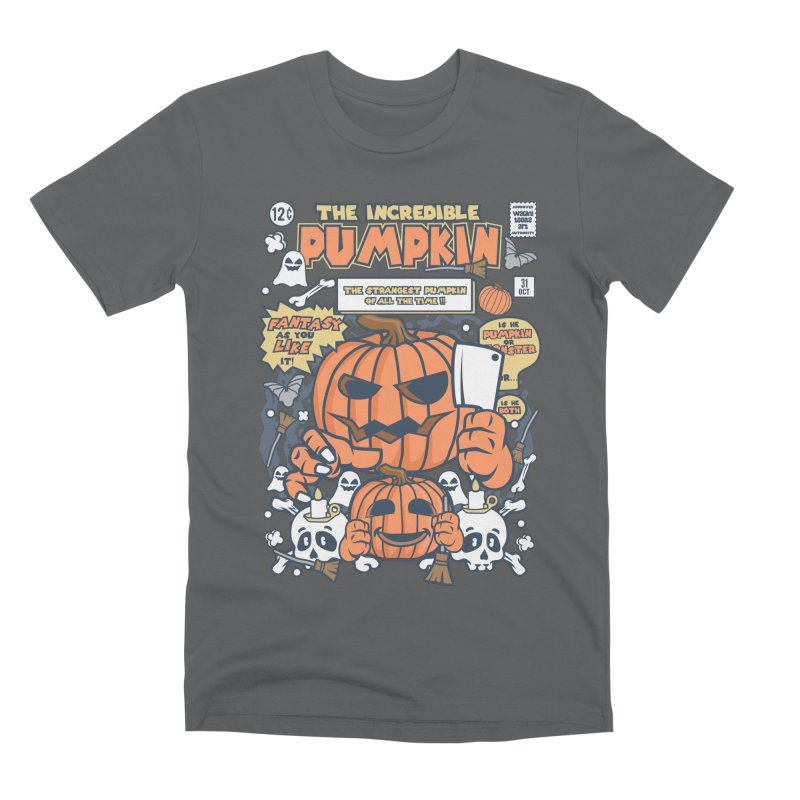 The Incredible Pumpkin Men's Premium T-Shirt by WackyToonz