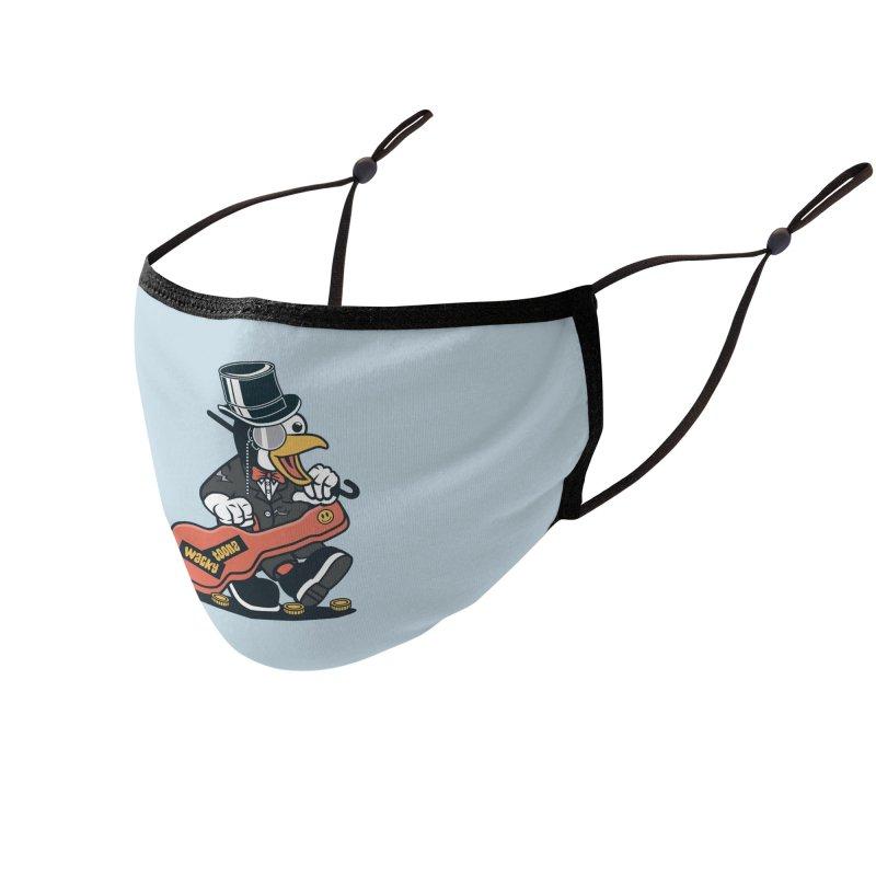 Penguin Busker Accessories Face Mask by WackyToonz