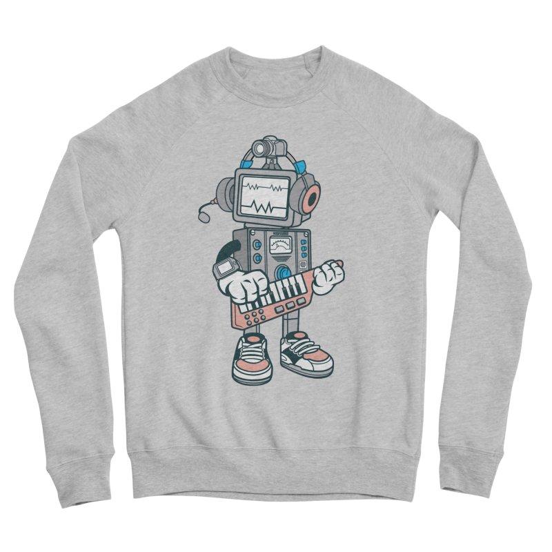 Synthwave Women's Sponge Fleece Sweatshirt by WackyToonz