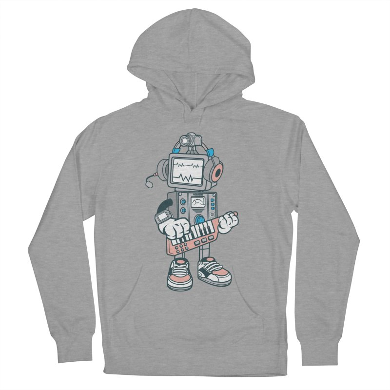 Synthwave Women's French Terry Pullover Hoody by WackyToonz