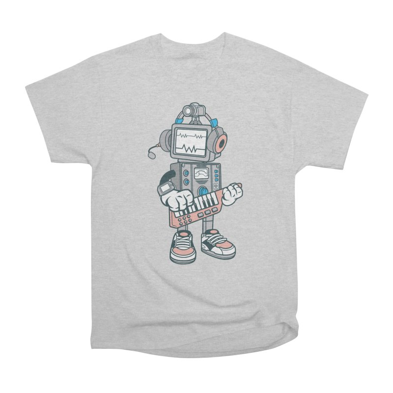 Synthwave Men's Heavyweight T-Shirt by WackyToonz