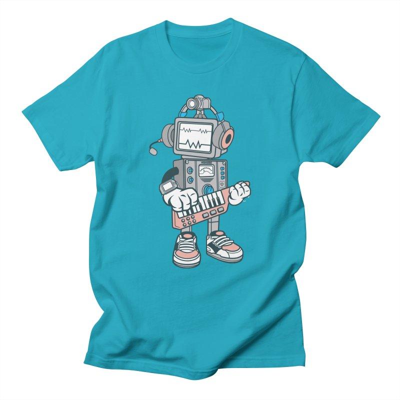 Synthwave Women's Regular Unisex T-Shirt by WackyToonz