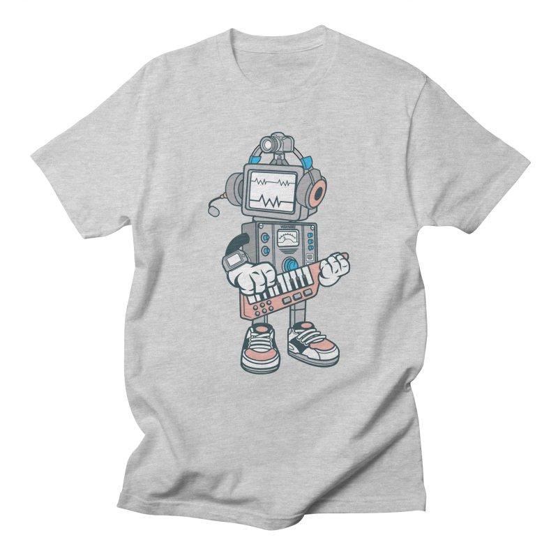 Synthwave Men's Regular T-Shirt by WackyToonz