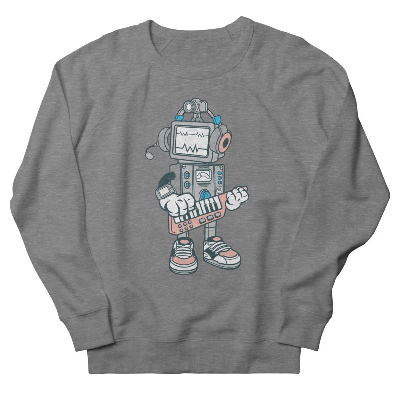 Synthwave Women's French Terry Sweatshirt by WackyToonz