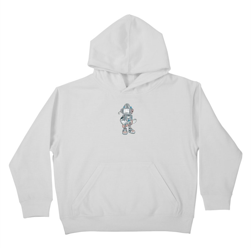 Synthwave Kids Pullover Hoody by WackyToonz