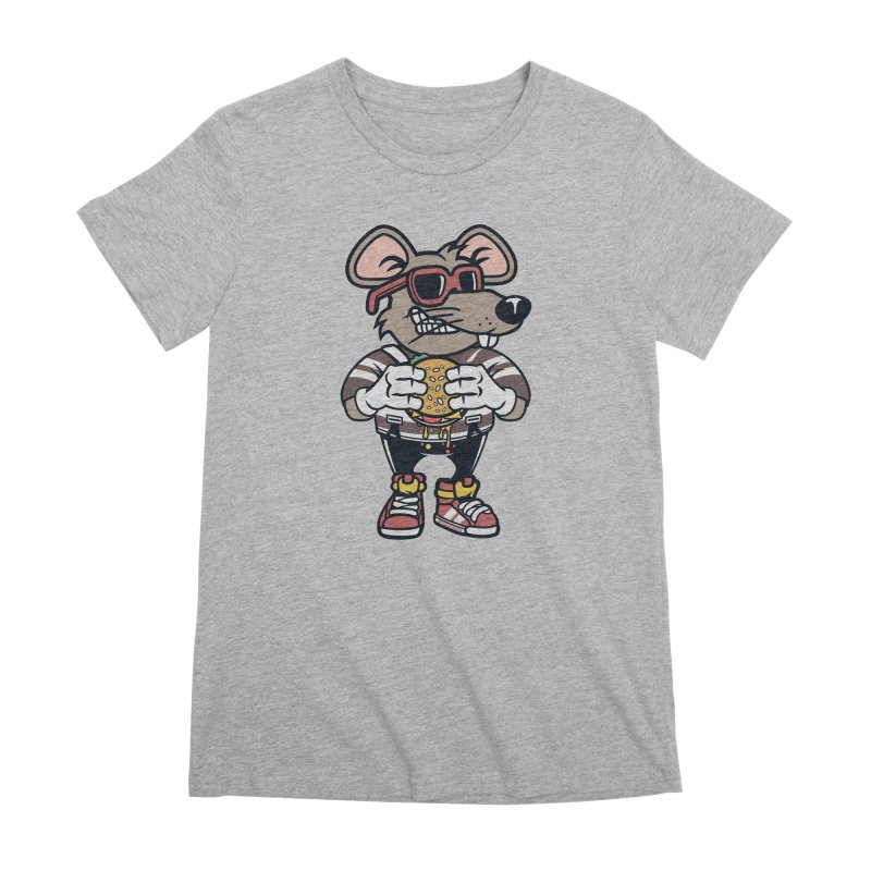Rat Burglar Women's Premium T-Shirt by WackyToonz