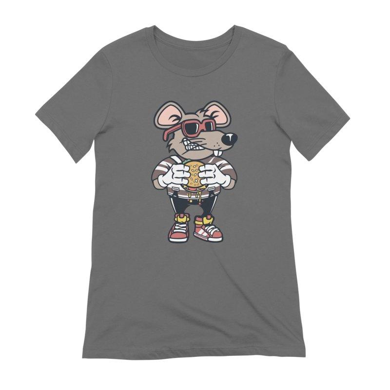 Rat Burglar Women's Extra Soft T-Shirt by WackyToonz