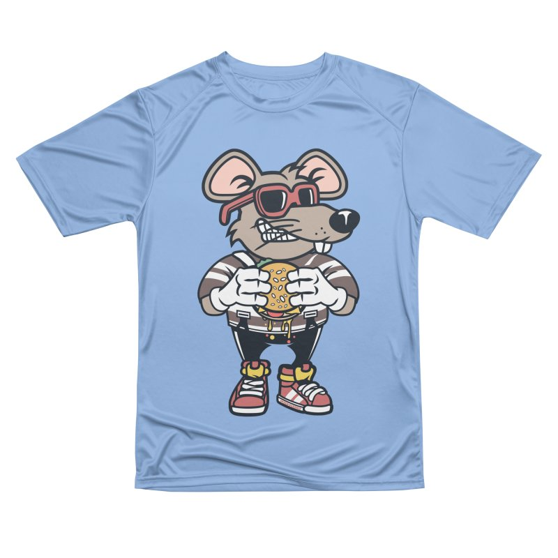 Rat Burglar Women's Performance Unisex T-Shirt by WackyToonz