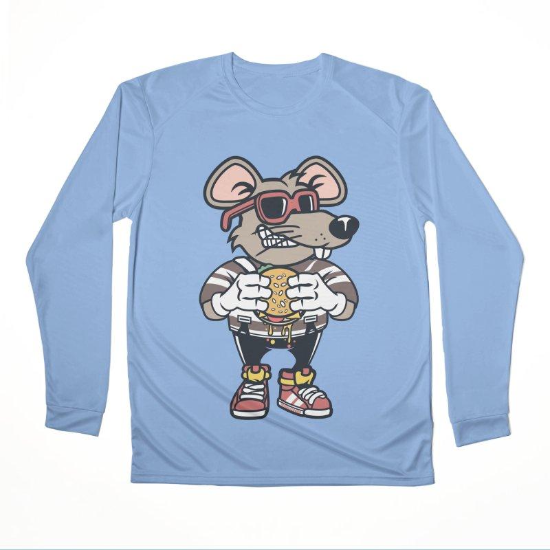 Rat Burglar Women's Performance Unisex Longsleeve T-Shirt by WackyToonz