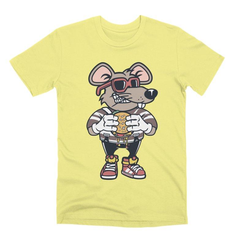 Rat Burglar Men's Premium T-Shirt by WackyToonz