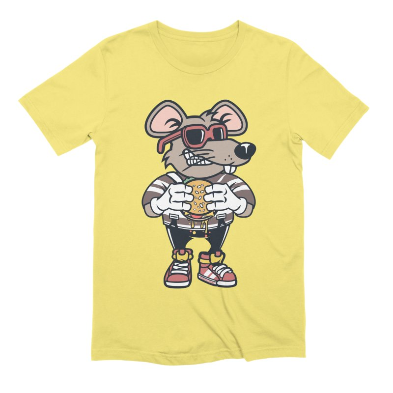 Rat Burglar Men's T-Shirt by WackyToonz