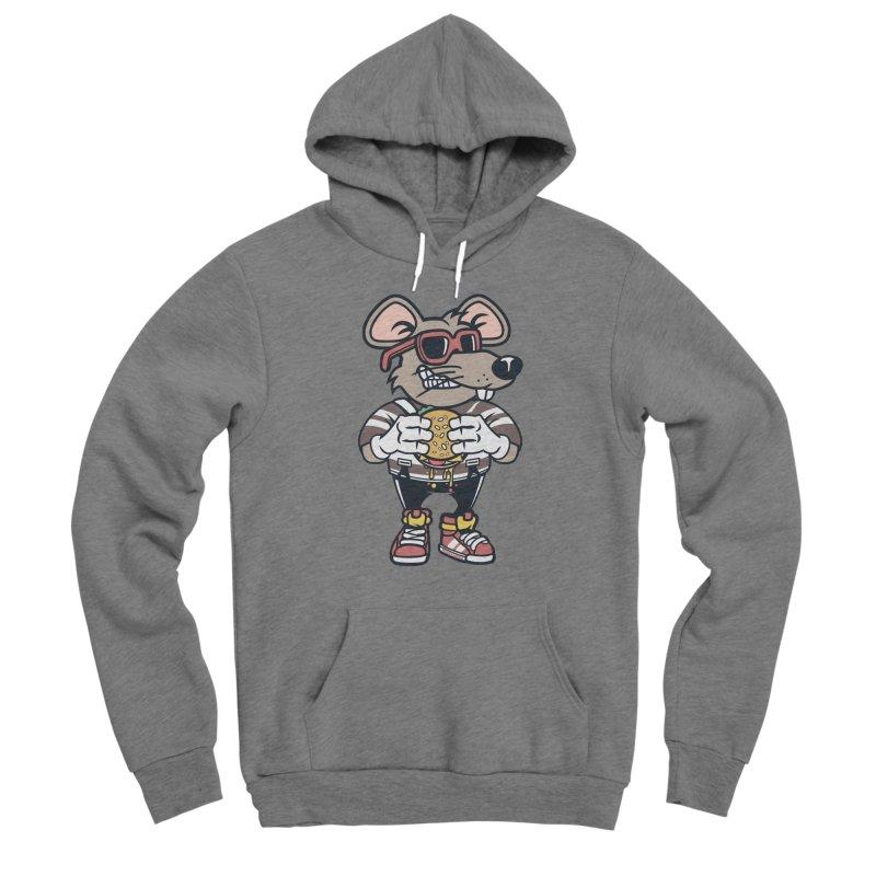 Rat Burglar Men's Sponge Fleece Pullover Hoody by WackyToonz