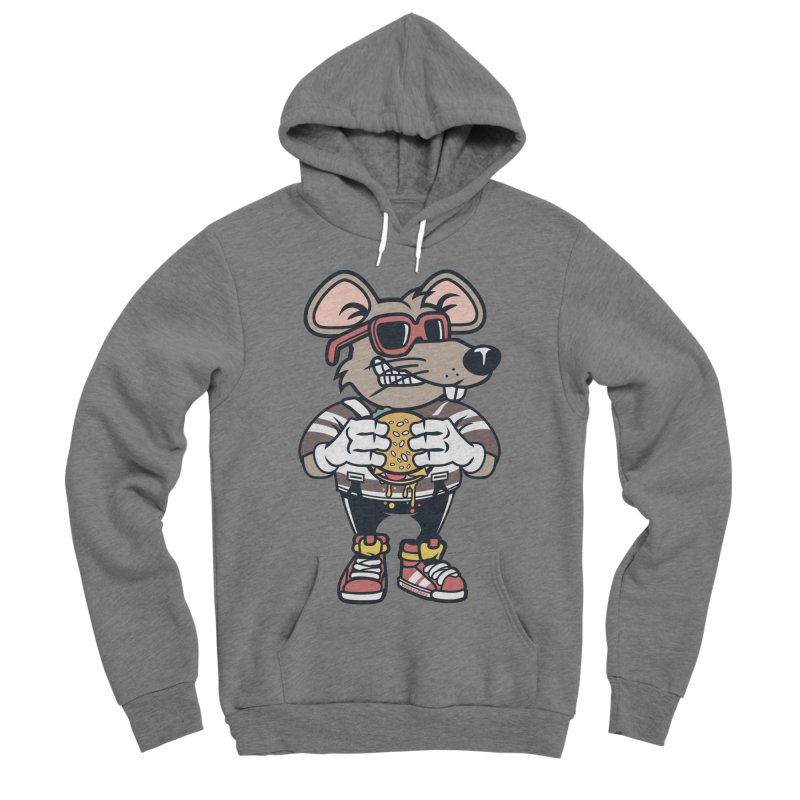 Rat Burglar Women's Sponge Fleece Pullover Hoody by WackyToonz