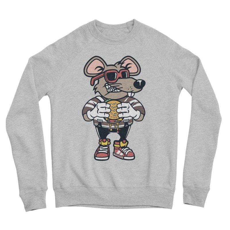 Rat Burglar Women's Sponge Fleece Sweatshirt by WackyToonz
