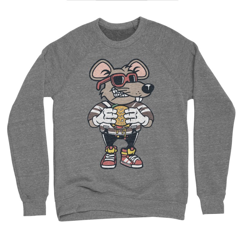 Rat Burglar Men's Sponge Fleece Sweatshirt by WackyToonz