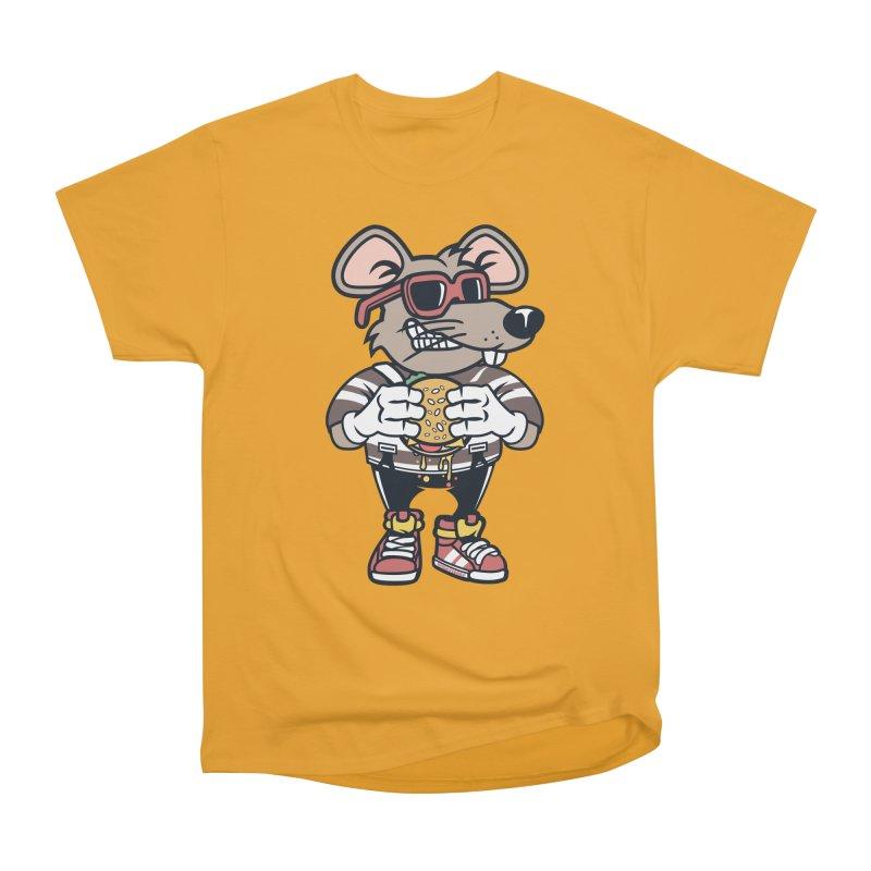 Rat Burglar Women's Heavyweight Unisex T-Shirt by WackyToonz