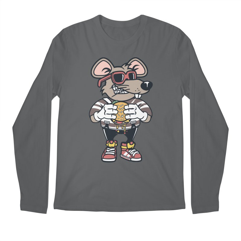 Rat Burglar Men's Regular Longsleeve T-Shirt by WackyToonz